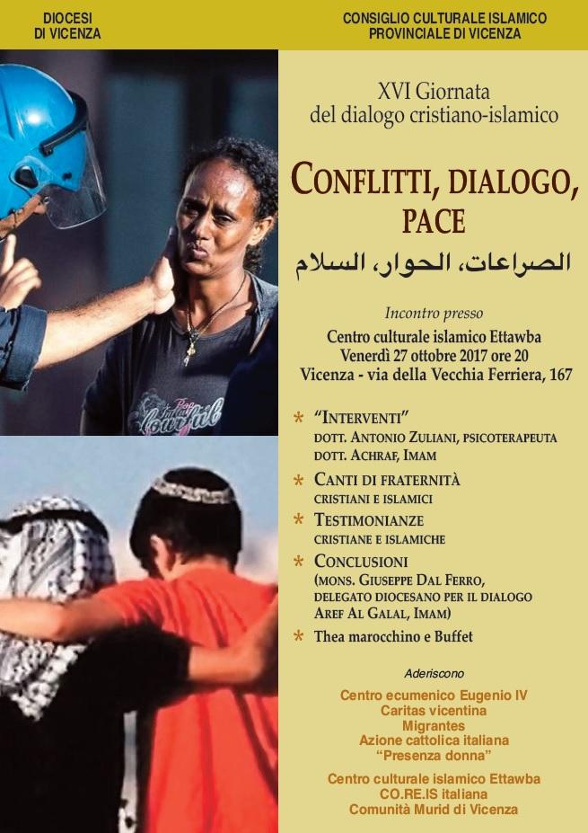 dialogo cristiano-islamico 27 ottobre 2017