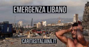 Raccolta fondi della Caritas Italiana per Emergenza Libano