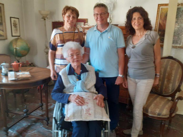 Adele Beltrame, 105 anni (quasi 106) di Azione Cattolica